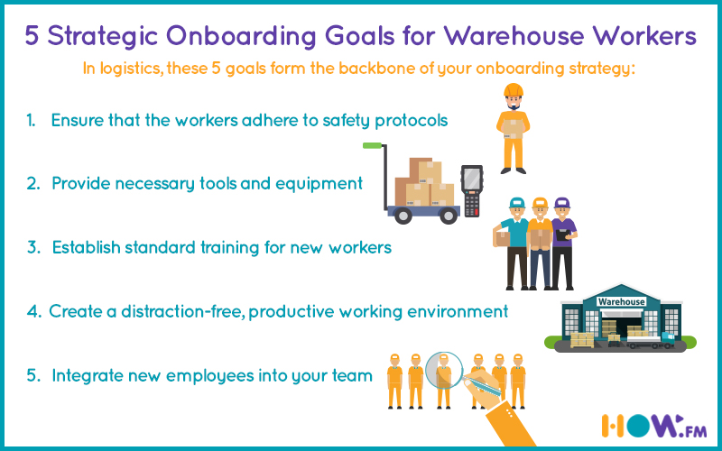 onboarding goals for warehouse workers - how.fm