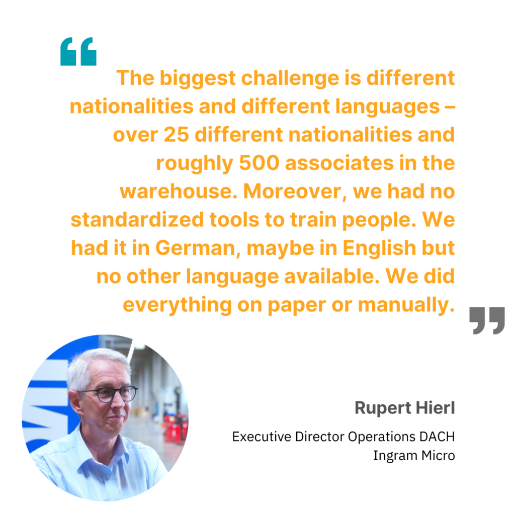 Rupert Hierl on warehouse safety challenges